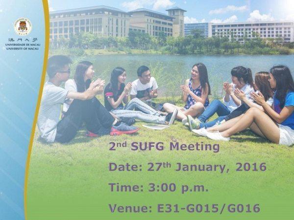 2ndSUFG Meeting