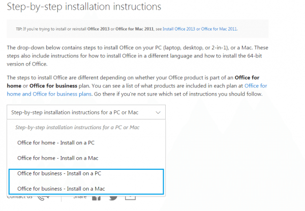How to install Microsoft Office 365 ProPlus | ICTO Newsletter